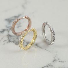 Conch Earring, Helix Earrings, Cartilage Earrings, Hoop Earrings, Silver Hoops, 925 Silver, Sterling Silver, Conch Hoop, Cartilage Hoop