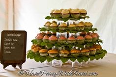 Cupcake tower Have Party Will Travel #HPWT #SLCCATERING #HavePartyWillTravel #SLC #Utah #801 #UtahCatering #utahcaterer #cateringutah #catering