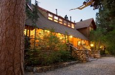 Wedding Venue: Big Bear Lake Bed and Breakfast Outdoor ceremony and reception