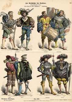 Landsknecht uniforms