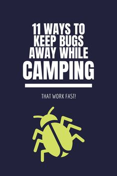 11 Ways To Keep Bugs Away While Camping (That Work Fast!)