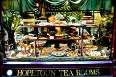 Melbourne Curious: The Block Arcade: The Hopetoun Tea Rooms