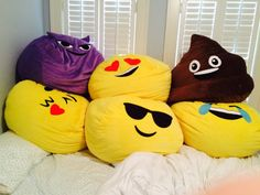 Perfect For Kids Rooms They Come In All Different Emojis