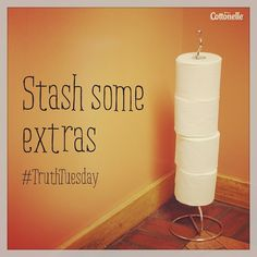 #TruthTuesday: Stock up so you're never forced to air dry.