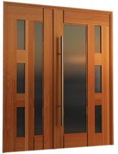 portas e janelas de madeira e vidro_Pesquisa do Hao123