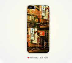 Vintage Time Square Phone Case for iPhone 5 iPhone 4 4/s Samsung galaxy s3 samsung galaxy s4 phone case new york phone case vintage case NYC...