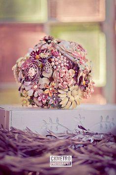broach bouquet.