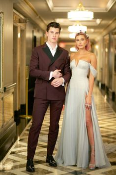 Hailey and Shawn in Met Gala 2018