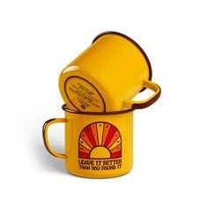Show your support for our National Parks with our classic enamel Leave it Better mug. Our Parks Project collection allows us the opportunity to organize more volunteer days as our business grows. National Park Gifts, National Park Posters, National Parks, Coffee Shop, Coffee Cups, Dog Cafe, Camping Set, Shop Till You Drop, Programming For Kids