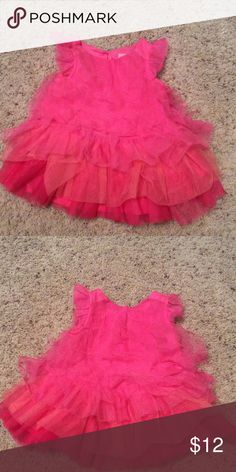 Baby dress Very cute pink and peach layered dress in size 3 to 6 months. Dresses Casual