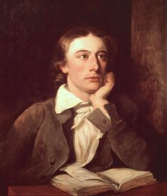 """John Keats English Romantic poet of the """"Second Generation"""" (along with Byron and Shelley), whose poetry and letters are infused with imagery. Famous works include the """"Odes"""", """"The Eve of St. Agnes"""", """"La Belle Dame sans Merci"""", and """"Bright Star"""". John Keats, English Romantic, Romantic Period, English Poets, Famous Poets, Writers And Poets, Book Writer, Bright Stars, Romanticism"""