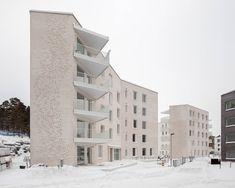Gallery of Lorentzinpuisto Apartments / Playa Architects - 1