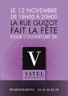 Agence conseil en communication Binome Nîmes Montpellier. Vatel gourmet - evenementiel publicité