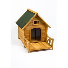 This Merax Wood Dog House Features High Quality Natural Cedar Wood Which Is  Environmental