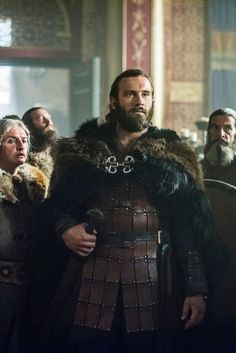 """Clive Standen as """"Rollo"""" on Vikings, later to become Robert, the Duke of Normandy in real life. His story is so interesting! What a man. Vikings Tv Series, Vikings Tv Show, Lagertha, Rollo Lothbrok, Br Games, Vikings Season 4, Viking 1, Game Of Thrones, Men Dress Up"""