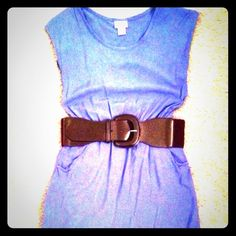 "NWT Ralph Lauren Waist Belt NWT Ladies LAUREN by Ralph Lauren Belt Color: Chocolate Size Small; 33"" end-to-end Elastic waistband for an adjustable fit Ralph Lauren Accessories Belts"