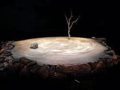 This is the tree that the duo stood under waiting for Godot. It was always the next day when it came to these two. You can't help but feel bad that they waited all that time for nothing. They even contemplated suicide while waiting.