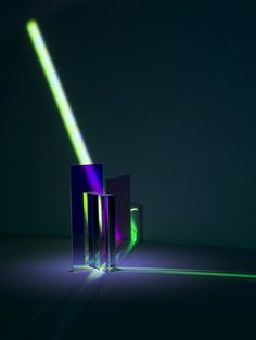 Modified and deflected light rays. Diffraction, a photograph series created by Mitch Payne.