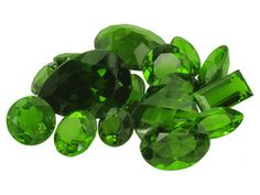Parcel Of Russian Chrome Diopside 10.00ctw Mixed (My Favourite Stone!)
