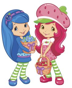 Blueberry and Strawberry