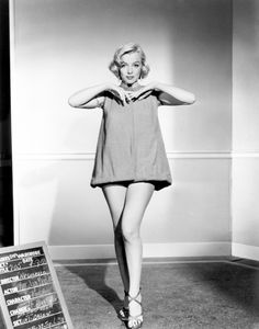 Marilyn Monroe, costume test for How to Marry A Millionaire, 1953