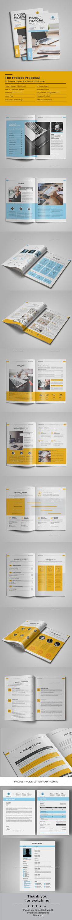 Web Design Proposal Proposal templates, Proposals and Brochures - what is in a design proposal