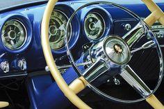 1953 Desoto Firedome Convertible Steering Wheel Emblem_Jill Reger