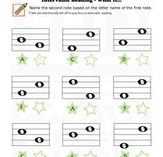 What If? Interval Worksheet