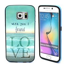 S6 Edge Case, Galaxy S6 Edge Case, ARTMINE Quotes Saying With You I Found Love Couple's Shockproof Silicone Hybrid Rugged Tough 2-Piece Dual Layers TPU Hard Back Bumper Durable Heavy Duty Rubberized Combo Phone Protective Case Cover [HD Screen Protector Gifted] Compatible for Samsung Galaxy S6 Edge Cases Verizon, AT&T, Sprint, T-Mobile ArtMine Phone Accessory http://www.amazon.com/dp/B00WNSC10E/ref=cm_sw_r_pi_dp_qv-Avb139M7XB