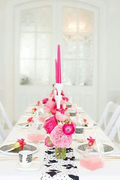 Pink Dinner Party for Adults