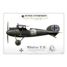 Albatros D.V. Ltn. Monnington 1917 BH-19