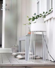 GL994408-Globen-Lighting-Koster-Gulvlampe-60-Hvit_m2 Lighting, Table, Furniture, Home Decor, Lily, Velvet, Decoration Home, Room Decor, Lights