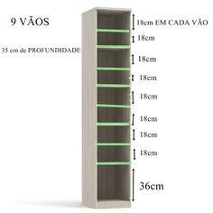 sapateira sob medida - Porto Alegre (Rio Grande do Sul) Bathroom Closet Organization, Woodworking Table Plans, No Closet Solutions, Closet Designs, Closet Bedroom, Decorating Your Home, Diy Furniture, Decoration, Rio Grande