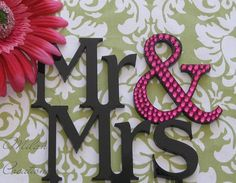 Partial Crystal MR AND MRS Cake Topper by MilanCreations on Etsy, $35.00