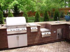 Medium size of diy bbq island videos cinder block manual grill full size of build your Layout Design, Küchen Design, Patio Design, Home Design, Design Ideas, Landscaping Design, Sink Design, Design Concepts, Exterior Design