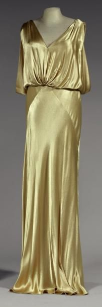 Maggy Rouff evening dress 1925
