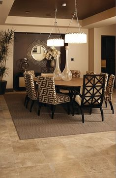 1000 Ideas About Brown Dining Rooms On Pinterest Beach