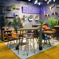 Home for the last two days had been fantastic - thanks to everyone who visited us and look forward to being part of your transformations ! Bistro Chairs, Dining Chairs, Interior Styling, Interior Design, Wholesale Furniture, Restaurant Design, Street Food, Bar Stools, Table