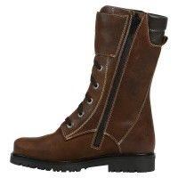 Women's Canadian Winter High Waterproof Leather Boots with thermoplastic sole