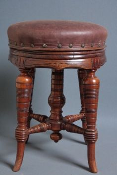 Victorian Piano Stool on #AntiqueForSale from Nimbus Antiques & very old foot stools | ... 1930u0027s Queen Anne Footstool Pouffe Old ... islam-shia.org