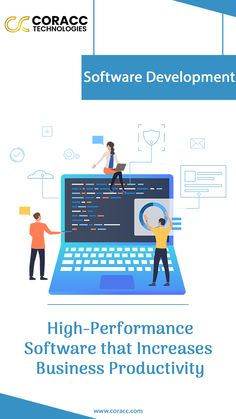 Want high-performance software that can help you to increase your productivity? If yes, rely on Coracc Technologies a leading software development company that provides top-rated Software development services. Software Development, Linux, Top Rated, Programming, Productivity, Innovation, Cloud, Coding, Hardware