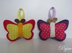 Handmade dětská dekorace - Handmade decoration for children #handmade #felt #decoration #modrykonik