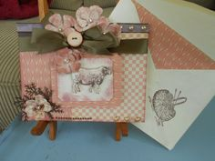 Shabby Chic Card by BarbarasNook on Etsy