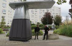 Le composteur urbain est installé au cœur du quartier.