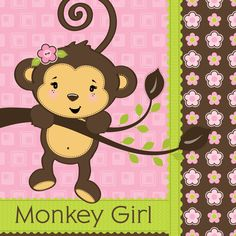 Monkey Girl - Birthday Party Theme - Birthday Party Girl - Build A ...