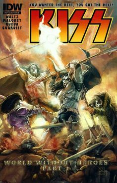 KISS (IDW, 2012) #3B - World Without Heroes