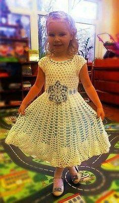 Вязание детям [] #<br/> # #Ves | <br/> Vestido