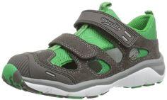 Superfit Sport5 Mini – Zapatos de primeros pasos de cuero bebé – unisex, color gris, talla 30