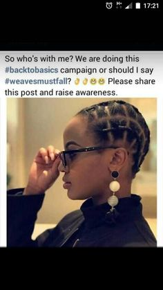 Spread the word African Natural Hairstyles, Natural Hair Updo, African Braids Hairstyles, Braided Hairstyles, Natural Hair Styles, Black Girl Braids, Braids For Black Hair, Girls Braids, African Threading