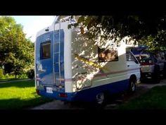 Mitsubishi Delica L300 P25 Camper - YouTube